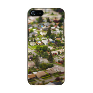 Technique #1- tilt/shift lenses metallic iPhone SE/5/5s case
