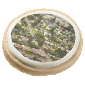 Technique #1- tilt/shift lenses round shortbread cookie