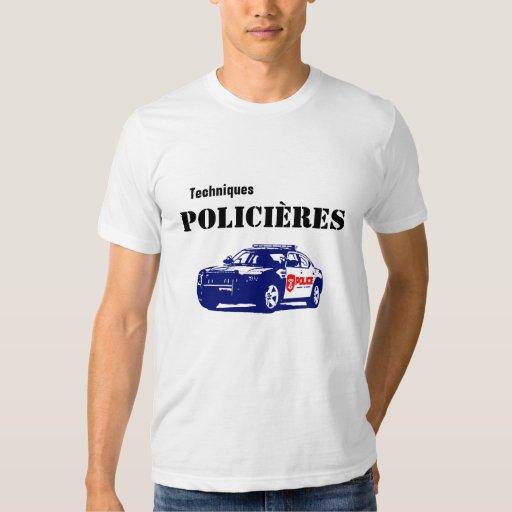 Techniques Policières Cegeps Shirts