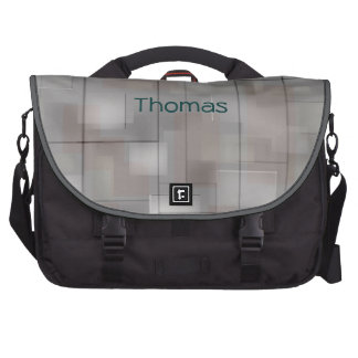Techno Abstract Laptop Bag Template