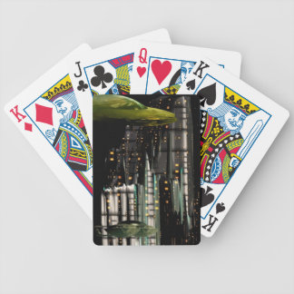 Techno City Bicycle Playing Cards