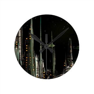 Techno City Clocks