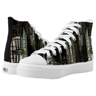 Techno City High-Top Sneakers