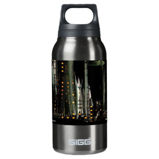 Techno City Insulated Water Bottle