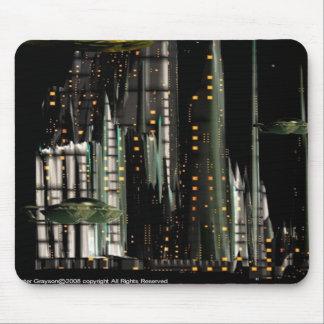 Techno City Mouse Pad
