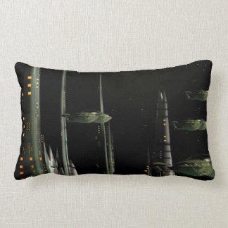 Techno City Pillow
