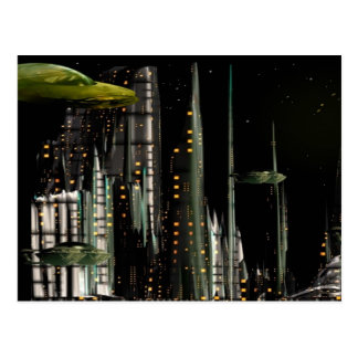 Techno City Postcard