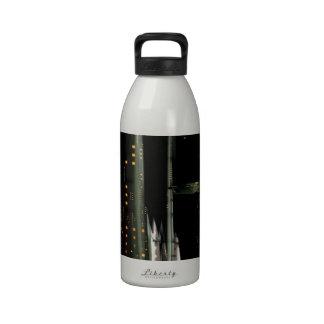 Techno City Water Bottles