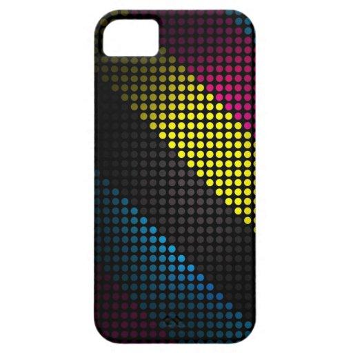 Techno, color industrial enciende el caso del funda para iPhone SE/5/5s