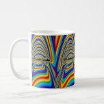 Techno color yawn mugs