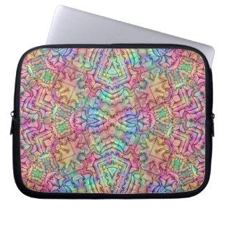 Techno Colors   Neoprene Laptop Sleeves