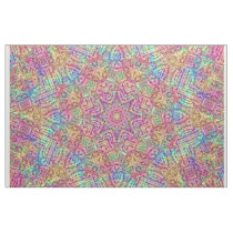 Techno Colors Pattern Fabric
