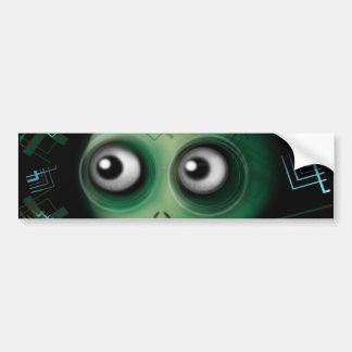 Techno Cyber Mutant Bumper Sticker