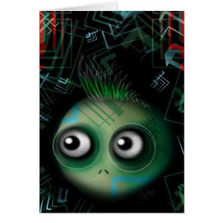 Techno Cyber Mutant Card