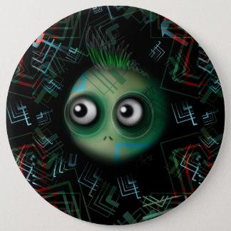 Techno Cyber Mutant Pinback Button