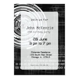 Techno data ring #1 card