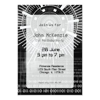 Techno data ring #4 card