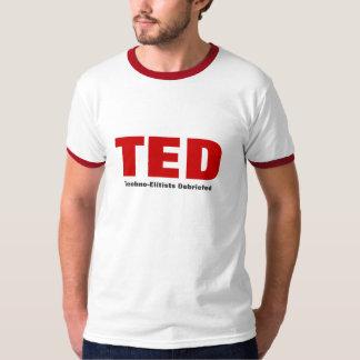 Techno-Elitistas de TED informados Playera