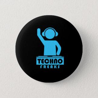 Techno Freaks Button