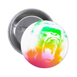 Techno Gorilla Pin