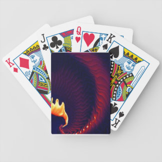 Techno Graphic Image Bicycle Playing Cards