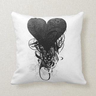 Techno Heart Pillow