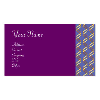 TECHNO INFINITE , light yellow blue purple Business Cards