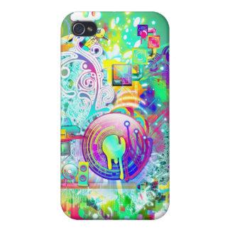 Techno iPhone 4 Case