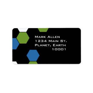 Techno Address Label