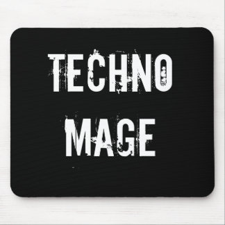 Techno Mage Mouse Pad