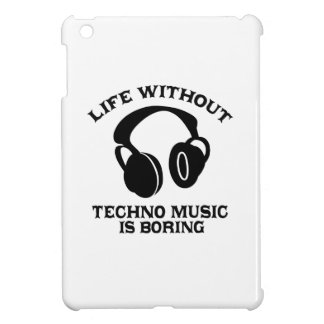 Techno Music designs iPad Mini Cover