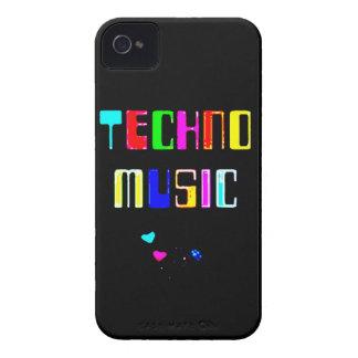 Techno Music heart Case-Mate iPhone 4 Case