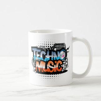 Techno Music Mug