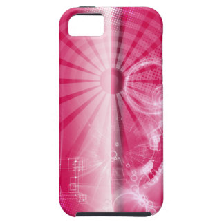 Techno Pink iPhone Case