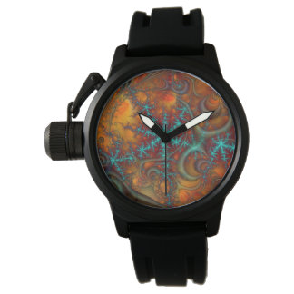 Techno Psychedelic Fractal Watches