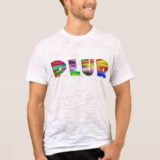Techno Rainbow PLUR T-Shirt