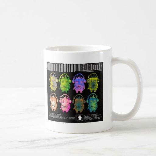 Techno Robot II Coffee Mugs