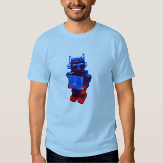 Techno robot Retro T-shirt