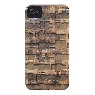 Techno rust pattern iPhone 4 case