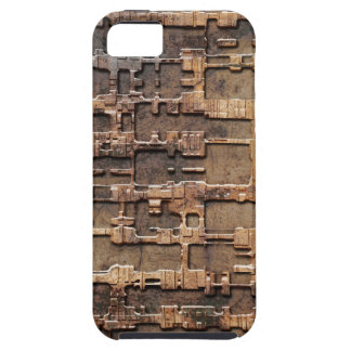 Techno rust pattern iPhone SE/5/5s case