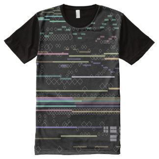 Techno Skin All-Over-Print Shirt
