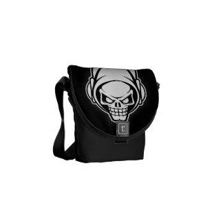 techno skull-Rickshaw Mini Zero Messenger Bag