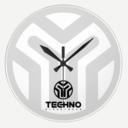 Techno Streetwear - Logo - Clock