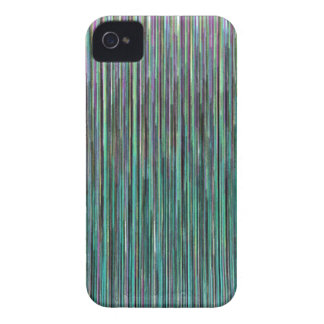Techno Stripes iPhone 4 Case-Mate Cases