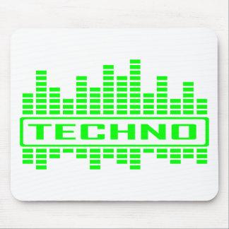 Techno Tempo design Mouse Pad