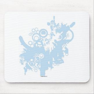 techno tree mousepad