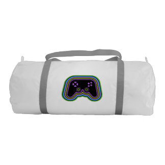 Techno Video Game Controller Duffle Bag