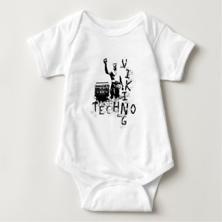 Techno Viking Baby Bodysuit