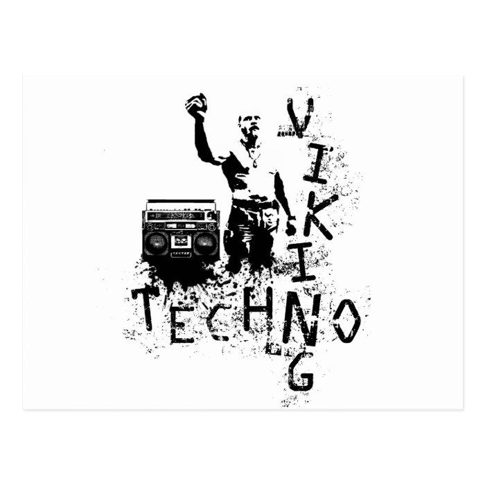 Techno Viking Postcard