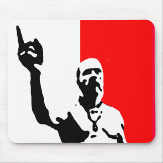 techno viking poster mouse pad